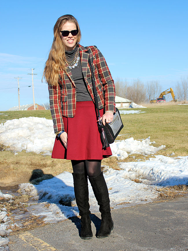 plaid-blazer-grey-turtleneck-burgundy-skirt2