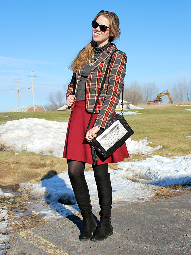plaid-blazer-grey-turtleneck-burgundy-skirt3