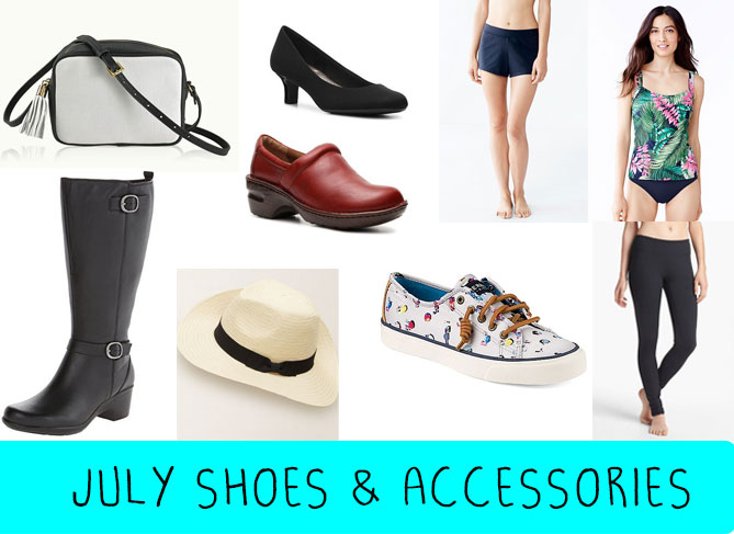 july budget-shoes-accessories