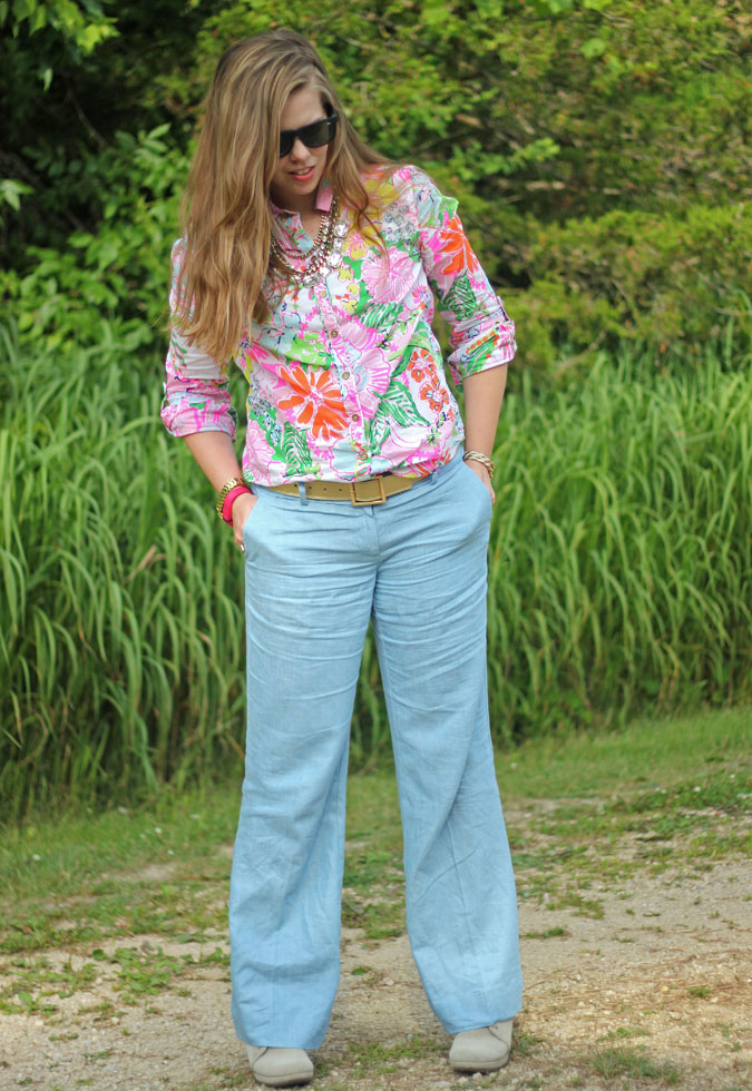 loft-chambray-pants-lilly-for-target-nosey-posie-button-up-3