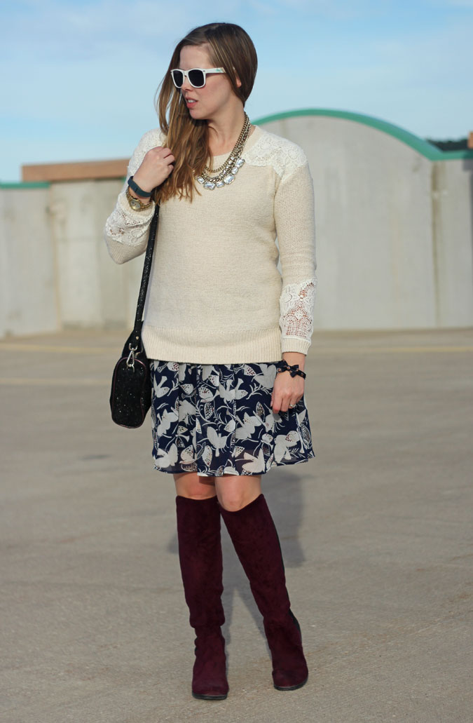 tan-with-lace-accents-sweater-blue-bird-skirt-marsala-boots-2