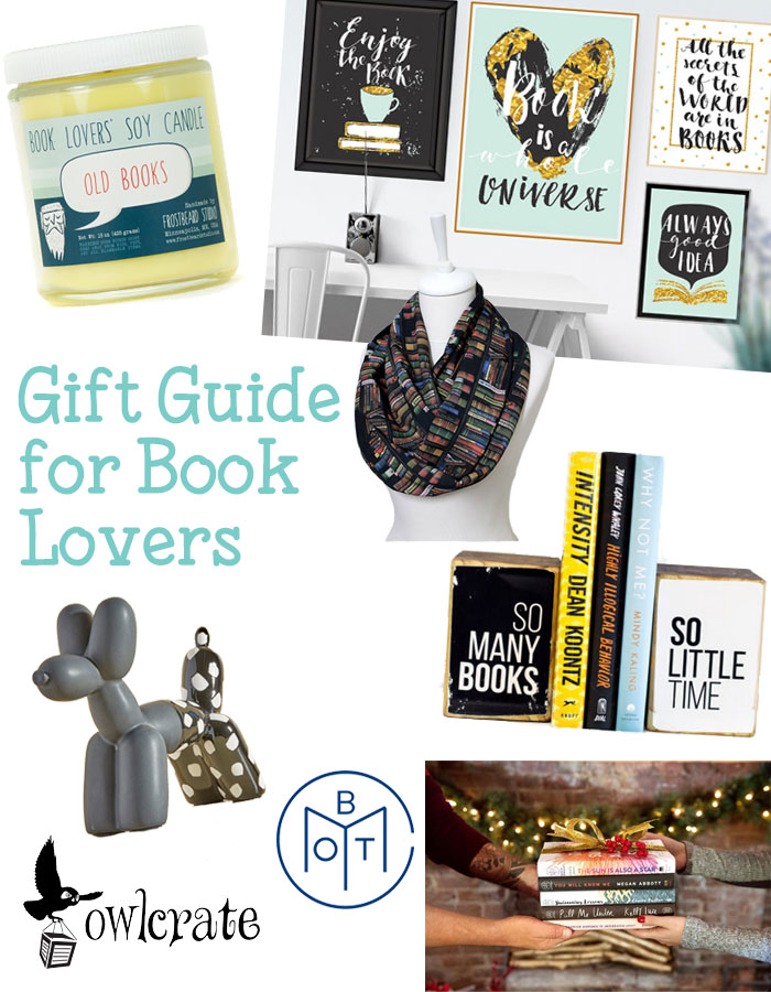 The gift guide for book lovers | Puppies & Pretties