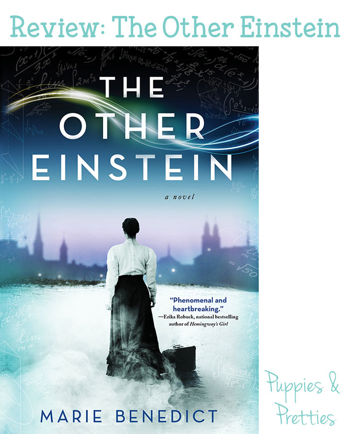 The Other Einstein review - Marie Benedict   Puppies & Pretties