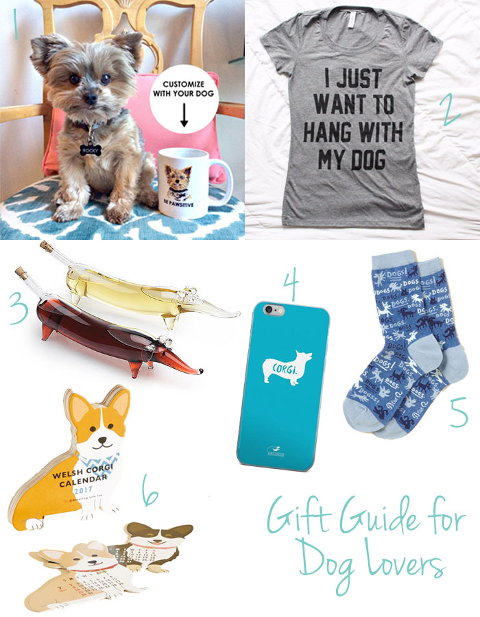 Gift Guide for Dog Lovers | Puppies & Pretties