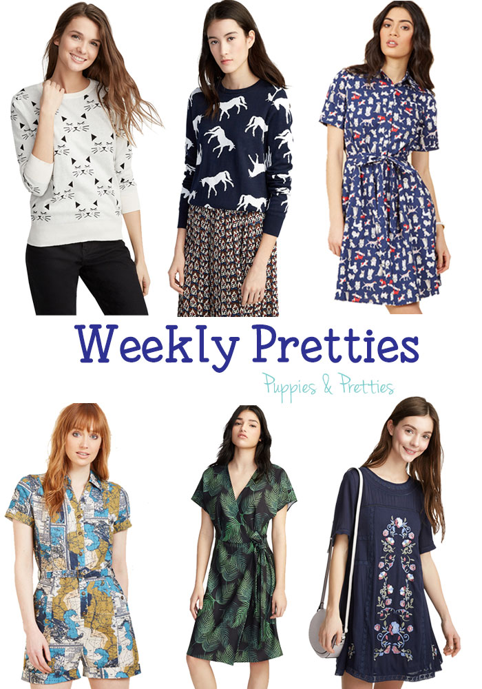 Weekly Pretties: Recent Finds from Simons and Modcloth | Puppies & Pretties