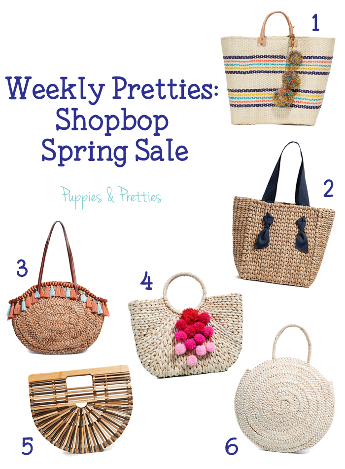 Weekly Pretties: Shopbop Spring Sale | Stock up on some great spring and summer styles with up to 25% off at Shopbop | Puppies & Pretties